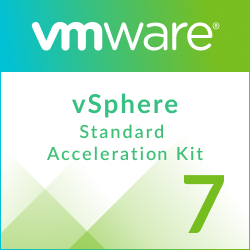 VMware vSphere 7 Standard Acceleration Kit for 6 processors